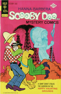 Scooby Doo #30 (1970). Click for values.
