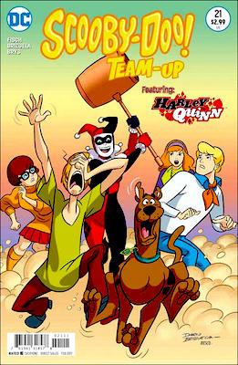 Scooby Doo Team-Up #21: Harley Quinn, Joker, Batman, Robin and Batgirl appearances. Click for values