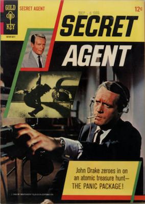 Secret Agent #1 (1966), Gold Key. Click for values