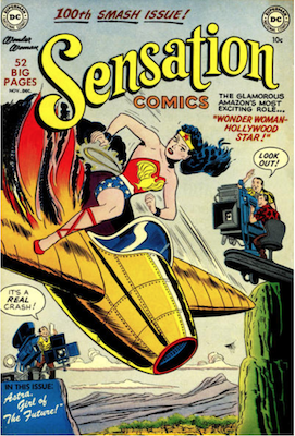 Sensation Comics #100. Click for current values.