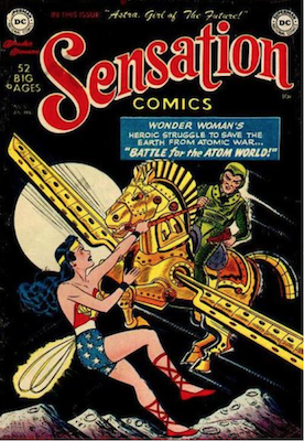 Sensation Comics #101. Click for current values.