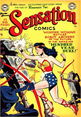 Sensation Comics #103. Click for current values.