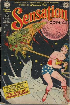 Sensation Comics #104. Click for current values.