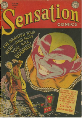 Sensation Comics #107: 1st Mystery Issue. Click for current values.