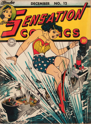 Sensation Comics #12. Click for current values.