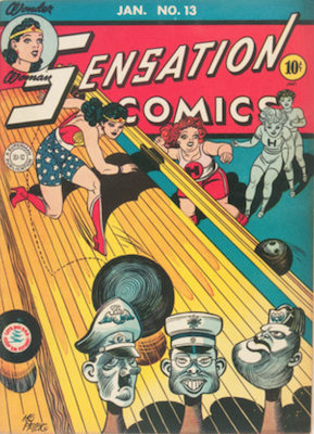 Sensation Comics #13. Click for current values.