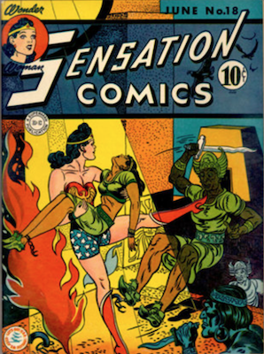 Sensation Comics #18. Click for current values.