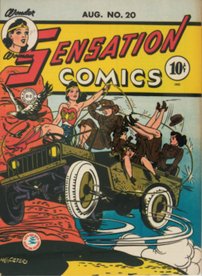 Sensation Comics #20. Click for current values.