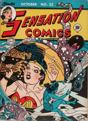 Sensation Comics #22. Click for current values.