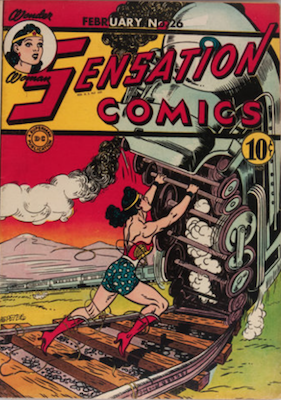 Sensation Comics #26. Click for current values.