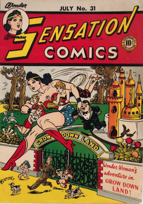 Sensation Comics #31. Click for current values.