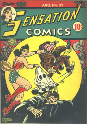 Sensation Comics #32. Click for current values.