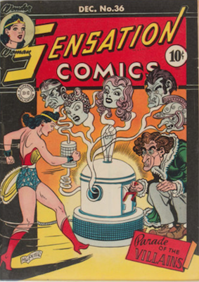 Sensation Comics #36. Click for current values.