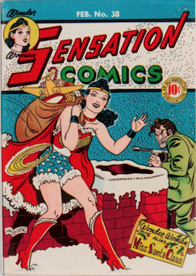 Sensation Comics #38. Click for current values.