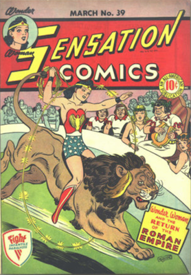 Sensation Comics #39. Click for current values.