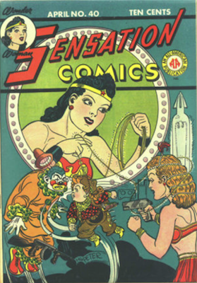 Sensation Comics #40. Click for current values.