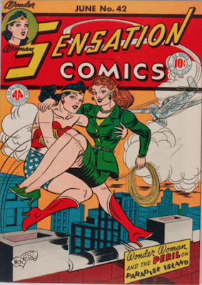 Sensation Comics #42. Click for current values.