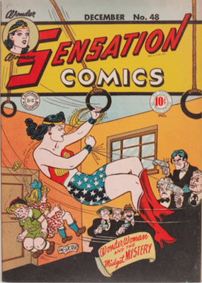 Sensation Comics #48. Click for current values.