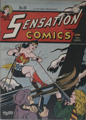 Sensation Comics #49. Click for current values.