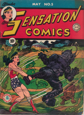 Sensation Comics #4. Click for current values.