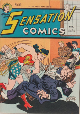 Sensation Comics #50. Click for current values.