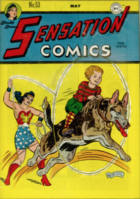 Sensation Comics #53. Click for current values.