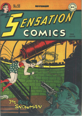 Sensation Comics #59. Click for current values.