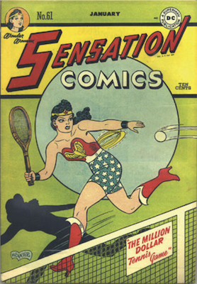 Sensation Comics #61. Click for current values.