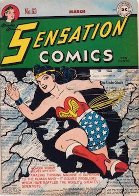 Sensation Comics #63. Click for current values.