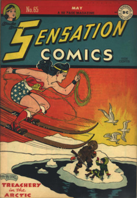 Sensation Comics #65. Click for current values.