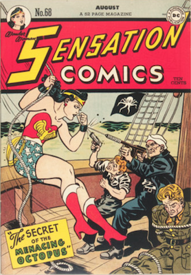 Sensation Comics #68: Origin and First Appearance of Huntress. Click for current values.