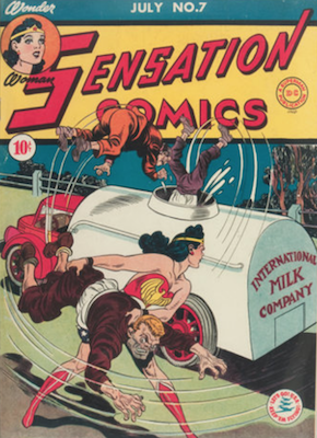 Sensation Comics #7. Click for current values.