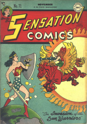 Sensation Comics #71. Click for current values.