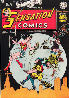 Sensation Comics #73. Click for current values.