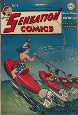 Sensation Comics #74. Click for current values.