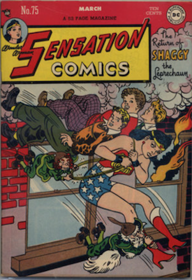 Sensation Comics #75. Click for current values.