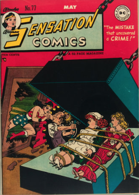 Sensation Comics #77. Click for current values.