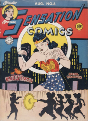 Sensation Comics #8. Click for current values.