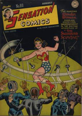 Sensation Comics #80. Click for current values.
