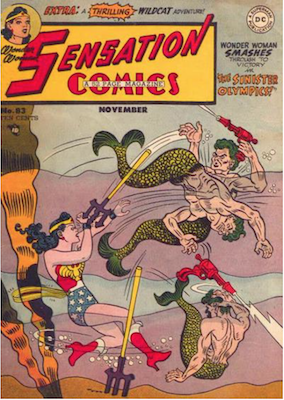 Sensation Comics #83. Click for current values.