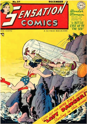 Sensation Comics #84. Click for current values.