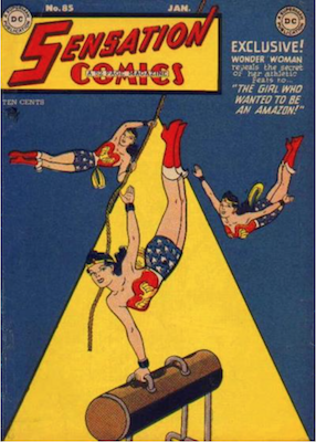 Sensation Comics #85. Click for current values.