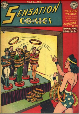 Sensation Comics #86. Click for current values.