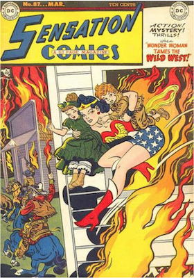 Sensation Comics #87. Click for current values.