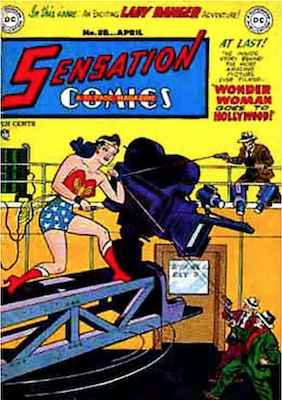 Sensation Comics #88. Click for current values.