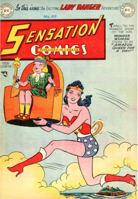 Sensation Comics #89. Click for current values.