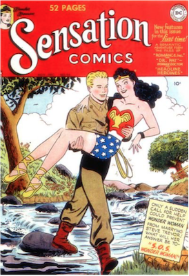 Sensation Comics #94. Click for current values.