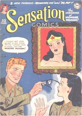 Sensation Comics #95. Click for current values.