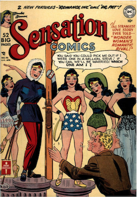 Sensation Comics #96. Click for current values.