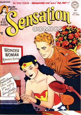 Sensation Comics #97. Click for current values.